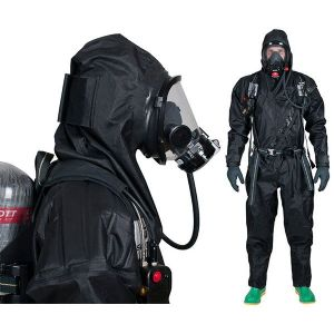 Trellchem ACT Tactical Gas Tight Suit